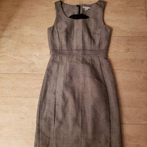 H&M Black/White Sheath Dress